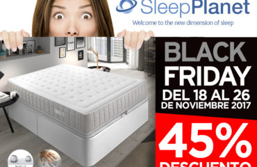 Black Friday Sleep Planet 2017