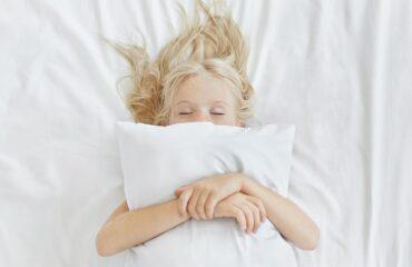 La importancia de dormir bien en niños